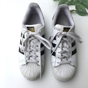 adidas Shoes - Adidas Superstar Black and White Classic Sneakers